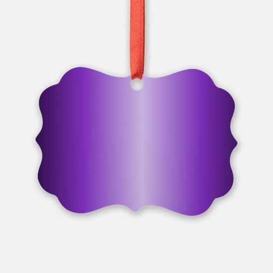 Purple Metallic Shiny Ornament