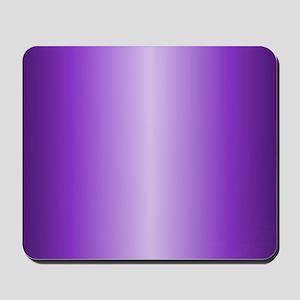 Purple Metallic Shiny Mousepad