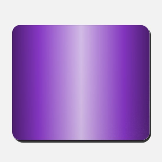 Purple Metallic Shiny Mousepad