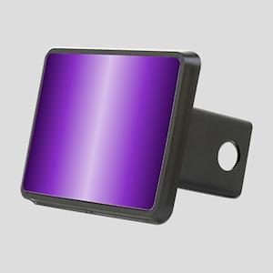 Purple Metallic Shiny Rectangular Hitch Cover