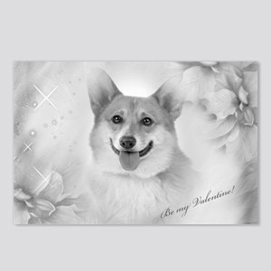 Be my Valentine Corgi Postcards (Package of 8)