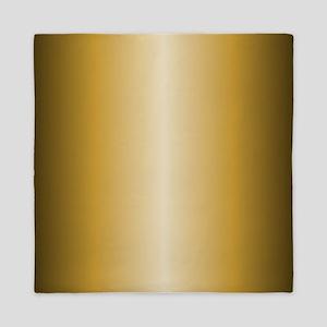 Gold Shiny Metallic Queen Duvet