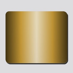 Gold Shiny Metallic Mousepad
