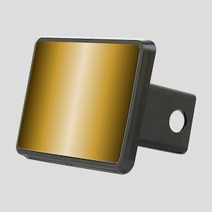 Gold Shiny Metallic Rectangular Hitch Cover