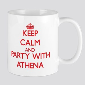 Keep Calm and Party with Athena Mugs