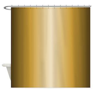 Shiny Metallic Shower Curtains
