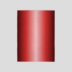 Red Metallic Shiny 5'x7'Area Rug