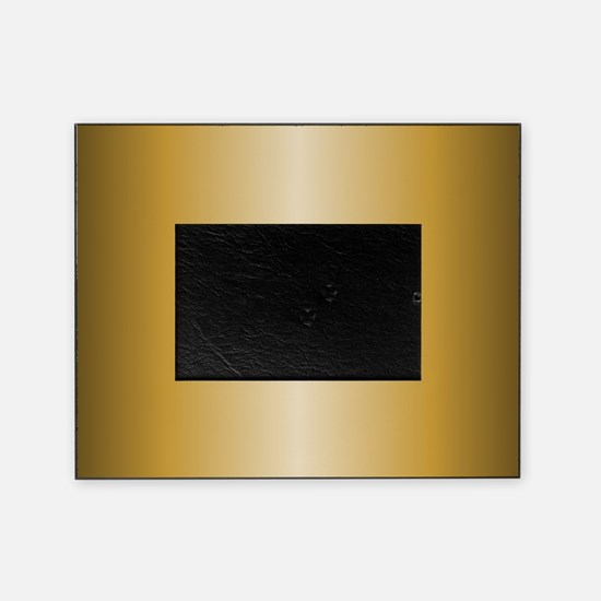 Gold Metallic Shiny Picture Frame