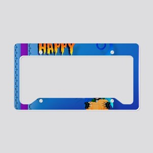 placemat-Happy Halloween-Witc License Plate Holder