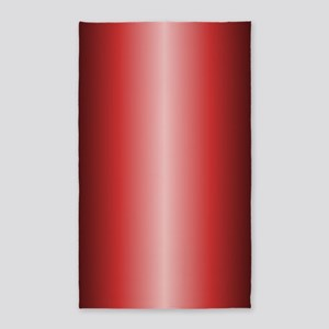 Red Shiny Metallic 3'x5' Area Rug