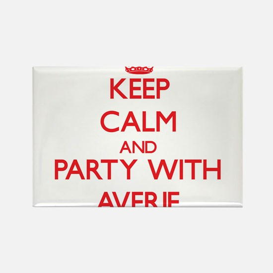 Keep Calm and Party with Averie Magnets