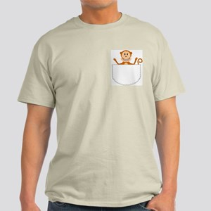Monkey pocket pal Light T-Shirt