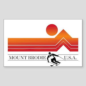 Brodie Sunset Sticker