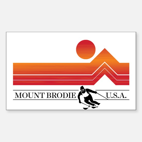 Brodie Sunset Decal