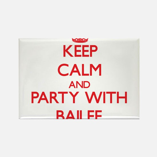 Keep Calm and Party with Bailee Magnets