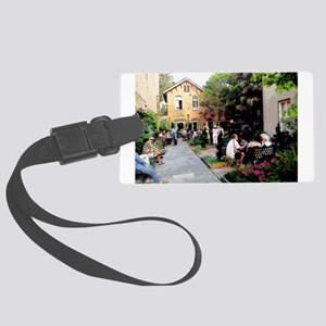 Conversations By The Garden Luggage Tag