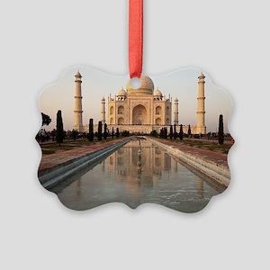 Taj Mahal Picture Ornament