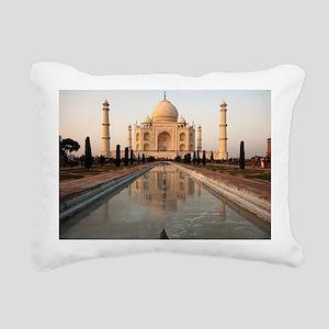 Taj Mahal Rectangular Canvas Pillow