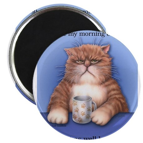 Coffee Cat Magnets