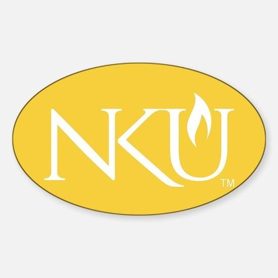 NKU Sticker (Oval)