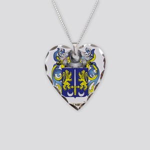 Maher Coat of Arms - Family C Necklace Heart Charm