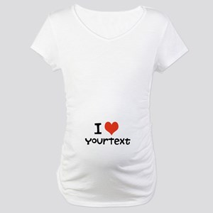CUSTOMIZE I heart Maternity T-Shirt