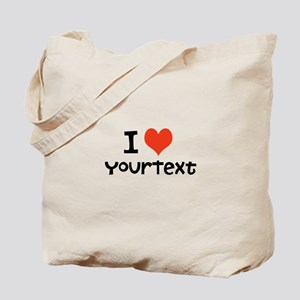 CUSTOMIZE I heart Tote Bag