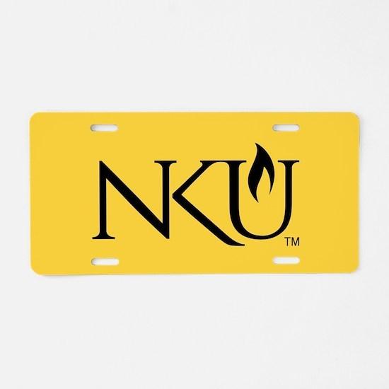 NKU Aluminum License Plate