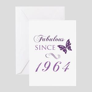 Fabulous Since 1964 Greeting Card