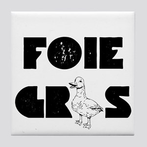 Foie Gras Tile Coaster