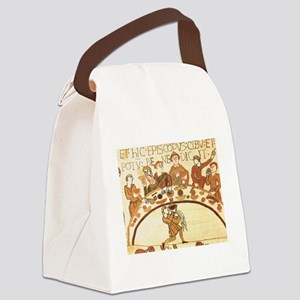 Bayeux Tapestry Feast Canvas Lunch Bag