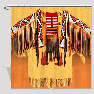 War Shirt Shower Curtain