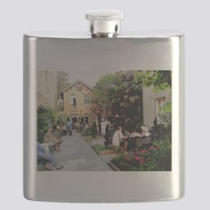 Conversations By The Garden Flask