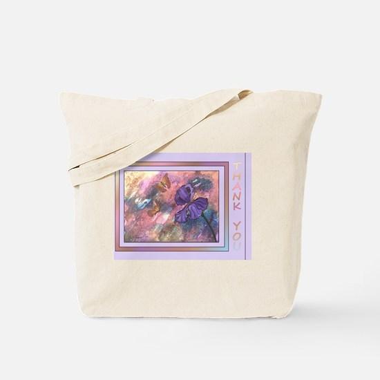 Pastel Monarchs Thank You Tote Bag