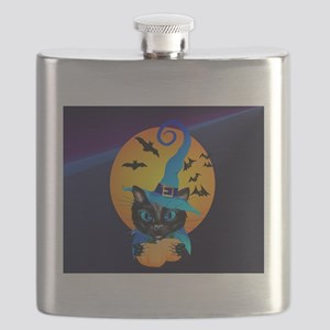 Kids f Blue Witch Kitty -Harvest Moon Flask