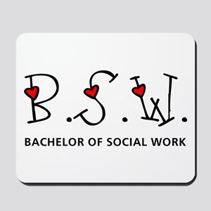 BSW Hearts (Design 2) Mousepad