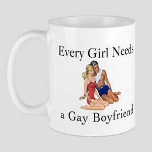 My Gay Boyfriend Mug