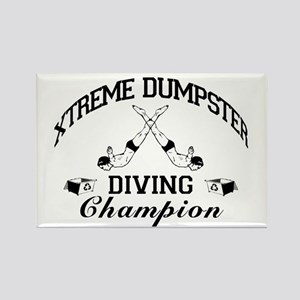Dumpster Diver Rectangle Magnet (10 pack)