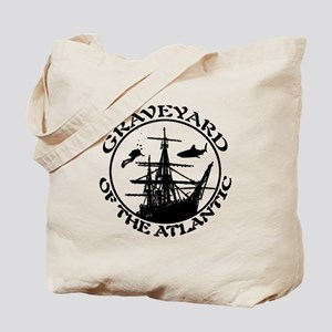 Graveyard of the Atlantic BLK Tote Bag