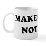 MAKE CURRY NOT WAR Mug