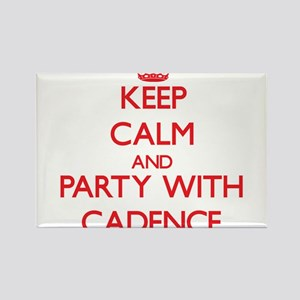 Keep Calm and Party with Cadence Magnets