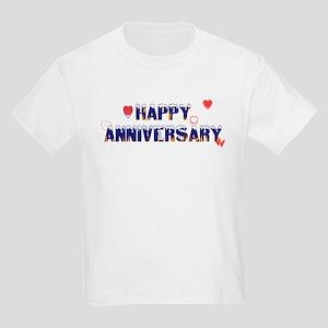 Happy Anniversary-melt Kids Light T-Shirt