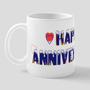 Happy Anniversary-melt Mug