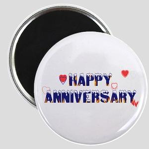 Happy Anniversary-melt Magnet