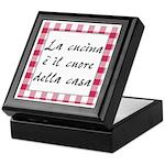 Cucina Cuore Casa Keepsake Box