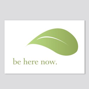 Be Here Now, Green Living Postcards (Package of 8)