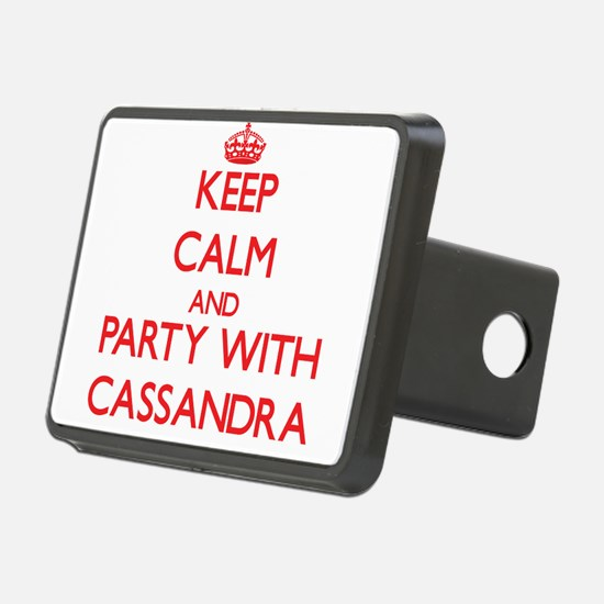 Keep Calm and Party with Cassandra Hitch Cover
