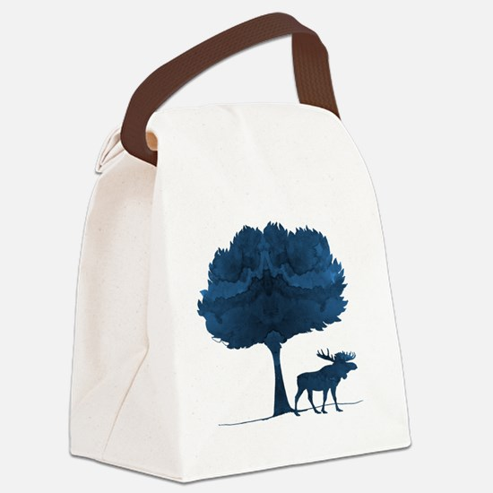 Funny Water boy Canvas Lunch Bag