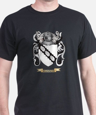 Manson Coat of Arms - Family Crest T-Shirt