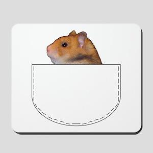 Hamster pocket pal Mousepad